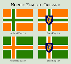National Flags With Orange Nordic Flags Of Ireland By Daneofscandinavy On Deviantart