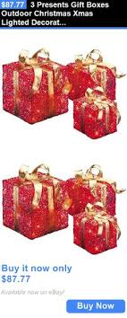 where to buy present boxes 3 glistening gift box lighted christmas yard decoration