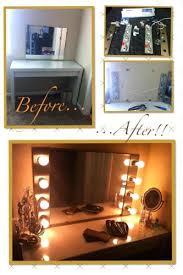 Tabletop Vanity Mirrors With Lights Vanities Mirror With Vanity Lights Diy Vanity Mirror With Lights