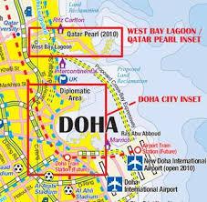doha qatar map qatar itmb buy qatar map mapworld