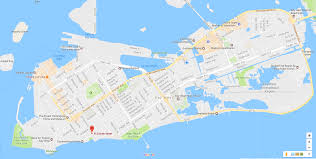 Key West Florida Map Key West Scooter Electric Car And Bicycle Rentals