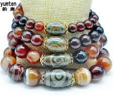 amber bead bracelet images Magical lucky amulet agate dzi bead bracelet gif