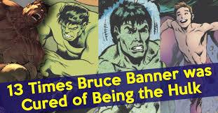 13 times bruce banner cured hulk cbr