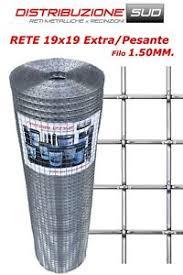 rete metallica per gabbie rete metallica per gabbie maglia 19x19 filo 1 50mm metri lineari