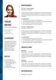 resume template word free word 2007 resume template athousandwords us