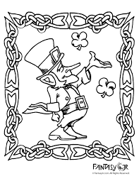 leprechaun coloring pages printable free leprechaun coloring page 2 woo jr kids activities