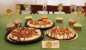 teenage mutant ninja turtle inspired birthday party food ideas
