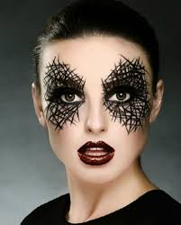 halloween make up faces spider face makeup for halloween archives