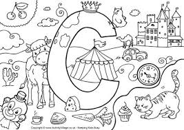 coloring pages for letter c c coloring page letter c coloring pages to fancy draw print