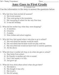 1st grade reading story grade reading comprehension workbook volume 1 50 stories