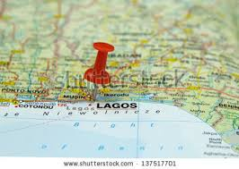 lagos city map lagos nigeria stock images royalty free images vectors