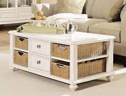 Trunk Coffee Table With Storage Coffee Table With Wicker Baskets View Wilson Fisherar Tuscany