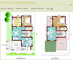 building plans architecture simple small two bedroom house building plan with