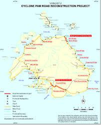 Vanuatu Map Ring Road Project Expected In June Vanuatu Independent