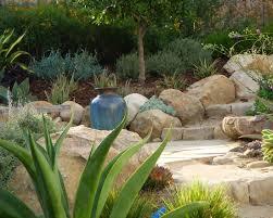 contemporary home design mediterranean landscape garden border