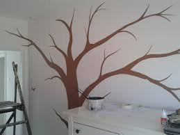 fairies and tree wall mural hand painted murals hand painted fairy tree wall mural