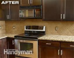 How To Reface Cabinets Cabinet Refacing Family Handyman