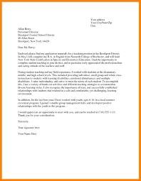 13 cover letter teacher example job apply form