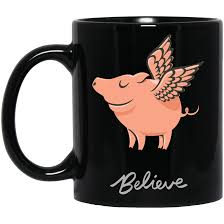 home decor piggies can fly