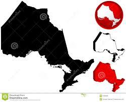 Ontario Canada Map Map Of Ontario Canada Royalty Free Stock Image Image 5358836