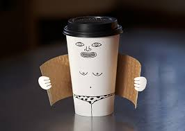 exhibitionist coffee cup creative photo the design inspiration