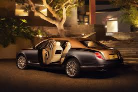 bentley custom bentley mulsanne grand limousine previews mulliner capabilities