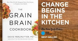 the grain brain cookbook by david perlmutter md