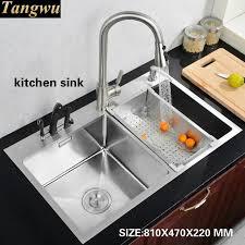 stainless steel hand sink tangwu kitchen 304 stainless steel hand sink basin washing dishes
