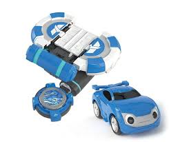 power battle watch car bluewill blue will coin watchcar young toys