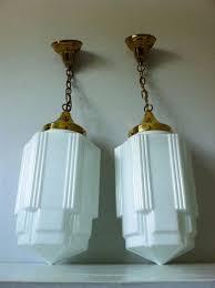 Milk Glass Chandelier Art Deco Skyscraper Milk Glass Light Fixtures We Have One Of