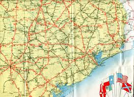Old Route 66 Map by Old Highway Maps Of Texas