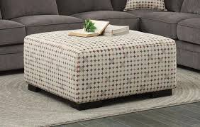 ottoman with patterned fabric homelegance 8335 4 alamosa casual patterned fabric ottoman