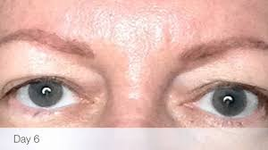 Eyebrow Tattoo Before And After Permanent Makeup Before And After Eyebrow Tattoo Youtube