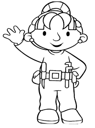 bob the builder coloring pages realistic coloring pages