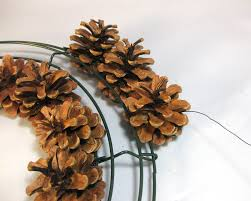 another bright idea pine cone wreaths a tutorial christmas
