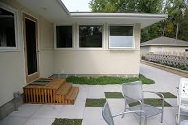 modern patio mid century modern patio ground one