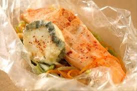 comment cuisiner le radis noir cuit recette de papillote de saumon au maure julienne de légumes