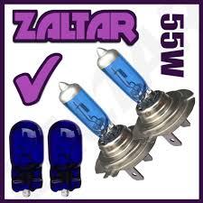 le h7 55w 2 x h7 499 477 55w xenon 501 blue headlight bulbs dipped