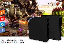 mini m8s ii 4k smart tv box android amlogic s905x quad core