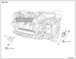 nissan rogue service manual removal and installation horn