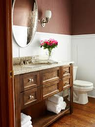 chocolate brown bathroom ideas what colors go with brown