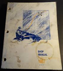 1987 bombardier ski doo shop service manual p n 484 0537 00 223