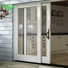 Upvc Patio Sliding Doors 3 Track Two Panels Pvc Patio Sliding Doors Kitchen Panel Track
