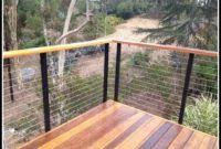 deck stainless steel cable railing decks home decorating ideas