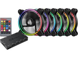 120mm rgb case fan enermax t b rgb 120mm case fan with 3 in 1 remote controller and