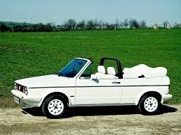 volkswagen convertible cabrio golf mk1 cabriolet white on white edition the white roof and
