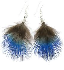 how to make feather earrings feather earrings peacock feathers feather earrings