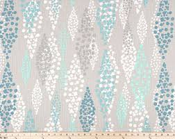 Turquoise And Grey Curtains Turquoise Curtains Etsy
