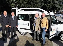 credito cooperativo manzano bcc dona un mezzo di trasporto all associazione anteas