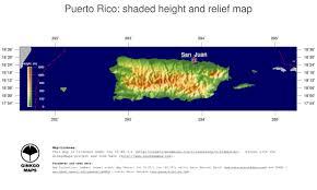 Map Puerto Rico Map Puerto Rico Ginkgomaps Continent South America Region